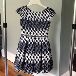 ZOE Ltd Fabulous navy and white dress